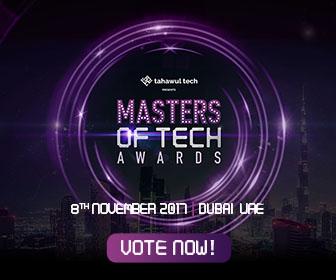 Tahawul Tech presents Masters of Tech Awards 2017   8 November 2017   Dubai   UAE   VOTE NOW