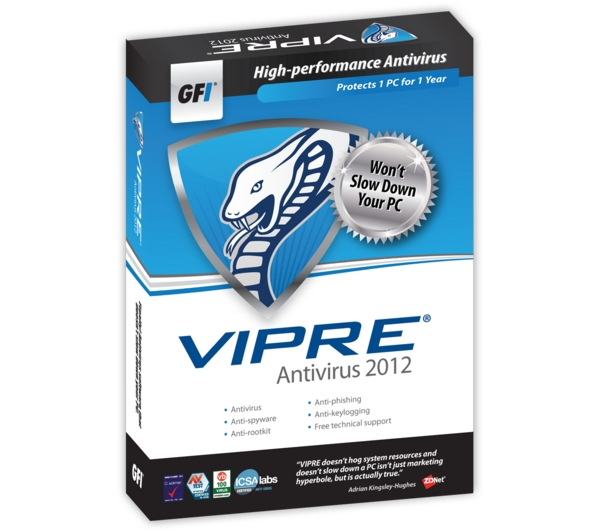 Expert VIPRE Review 2018