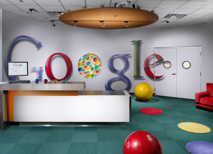 Google 39 still not for corporates 39 say it heads computer news middle east - Google head office photos ...