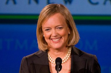 CEO Meg Whitman, HPE