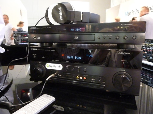 Review yamaha 39 s spotify connect av receivers computer for Yamaha amplifier spotify