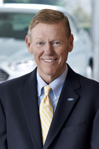 Alan Mulally, President and Chief Executive Officer, Ford