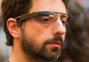 Google Co-Founder Sergey Brin Sports the New Google Glasses at D