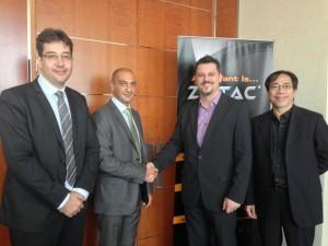 ZOTAC - Gulf Shadows - distribution partnership