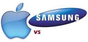 Apple-vs-Samsung-logos