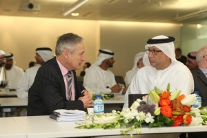 Richard Bruton TD  H E  Mohamed Nasser Al Ghanim TRA Director General