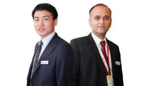 (L-R) Dong Wu, President, Huawei, Enterprise Business, Middle East and Shailendra Sainani, Sales Director, Commercial Business, Huawei, Enterprise, Middle East