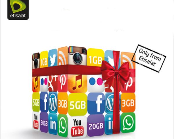 Etisalat launches mobile data bonus