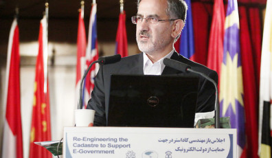 Iran's Deputy Minister of Telecommunications and Information Technology, Nasrollah Jahangard