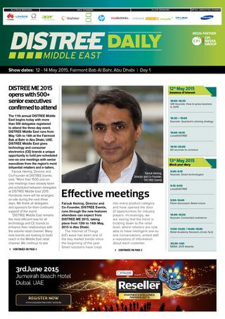 Distree Daily Middle East