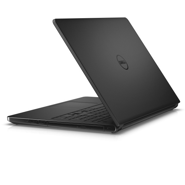 Dell Inspiron 15 5000 Series (Model 5552) Non-Touch 15-inch notebook computer, codename Tulip 15, in patterned black with a Braswell processor.