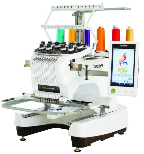 pr 1000e embroidery machine
