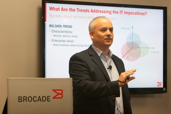 Jack Rondoni, Brocade Senior Director of Product Management.