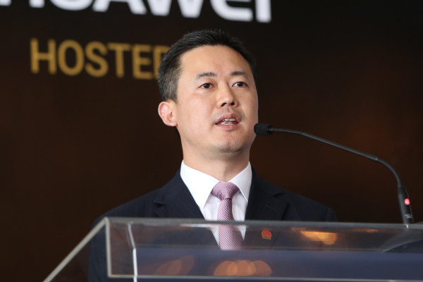 Charles Yang President of Middle East Huawei