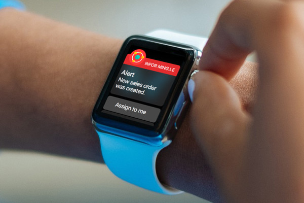 Infor Ming.le BI for Apple Watch