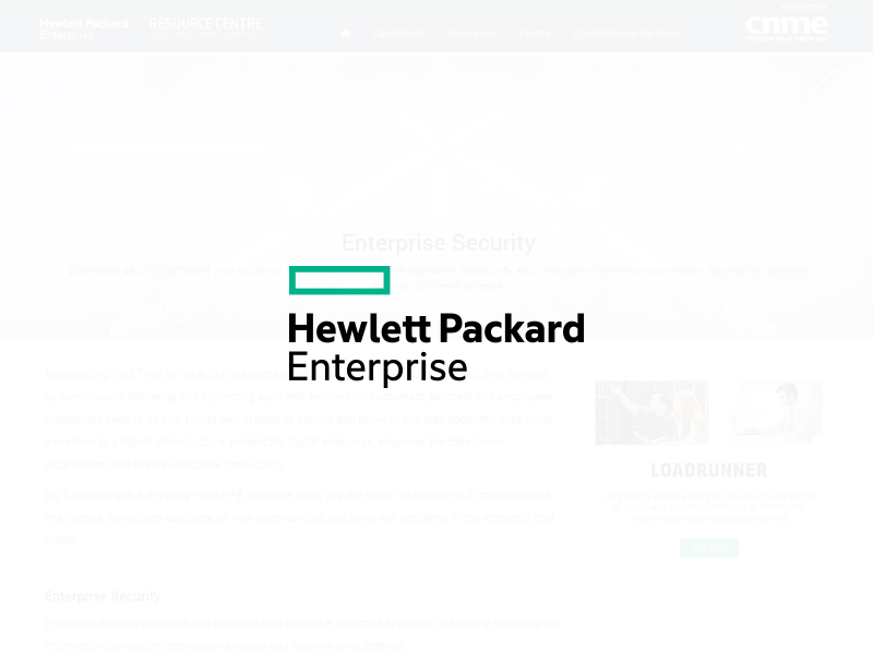 HPE Resource Centre