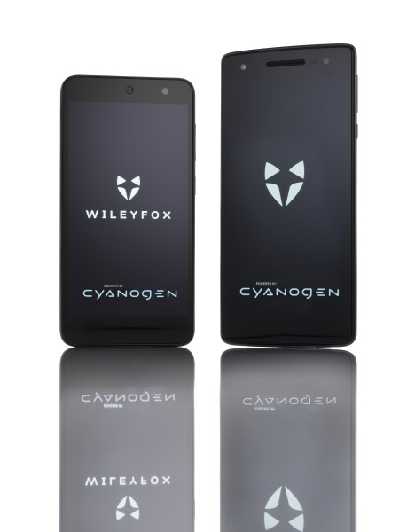 Wileyfox Cyanogen Screen