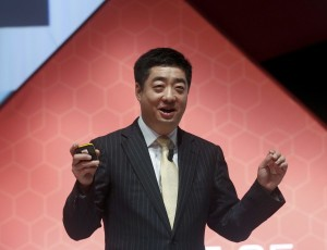 Huawei's Deputy Chairman and rotating Chief Executive Ken Hu