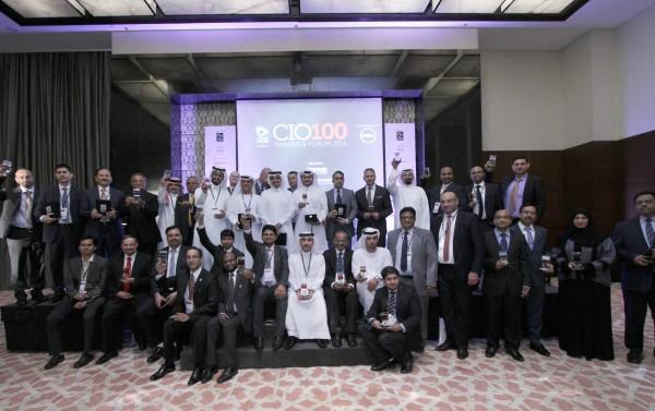 CNME CIO 100 Group shot