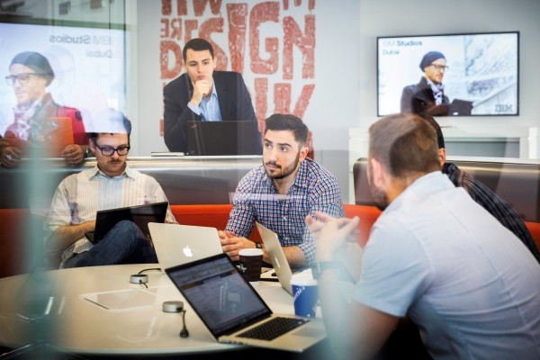 IBM designers working on MobileFirst technologies for clients