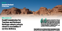Saudi Commission for Tourism and National Heritage adopts private cloud to streamline IT service delivery