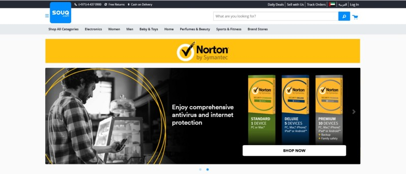 Norton E-shop