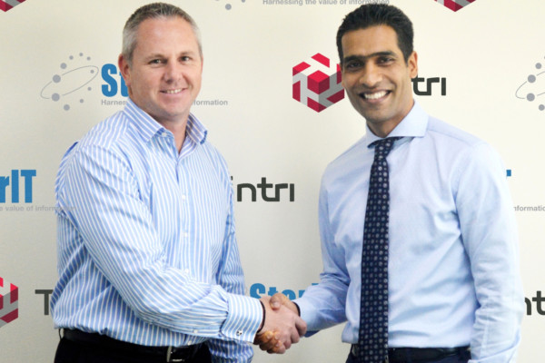 Claudio Polla, Tintri and Suren Vedantham, StorIT Distribution