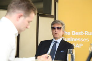 Bill McDermott talks data centres with James Dartnell