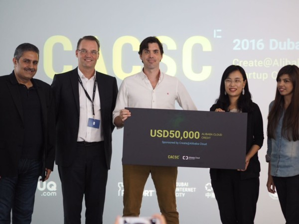 Marhababy - the winner of the Alibaba Cloud startup contest