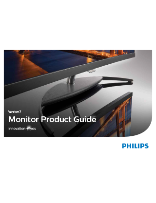 Philips and AOC | Version 7 Monitor Product Guide