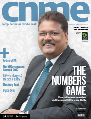 CNME Online | March 2017 | Issue 302 | The numbers game
