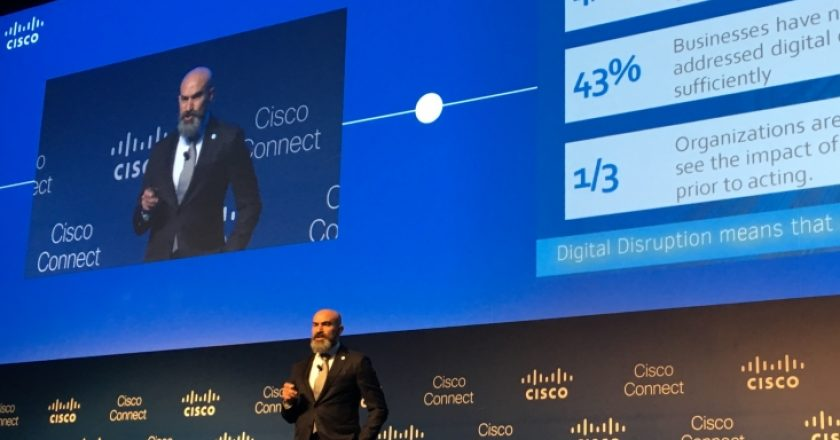 Shukri Eid at Cisco Connect UAE 2017