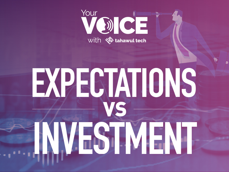 Expectations vs Investment