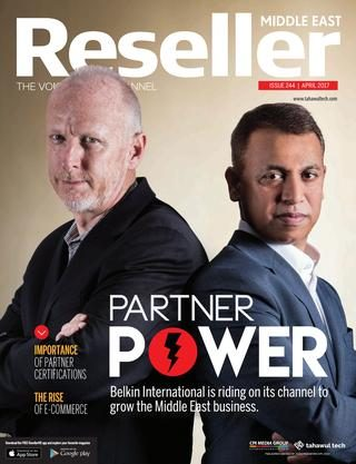 Reseller Middle East   April 2017   Issue 244   Partner power