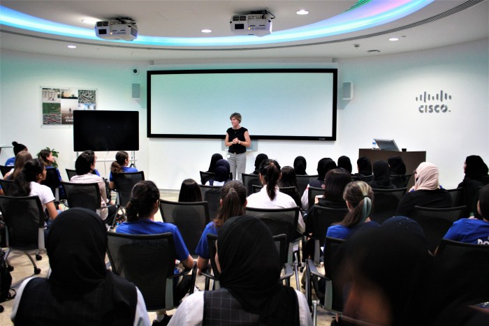 Cisco programme urges female students to pursue tech careers