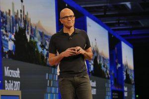Satya Nadella opens Microsoft Build 2017