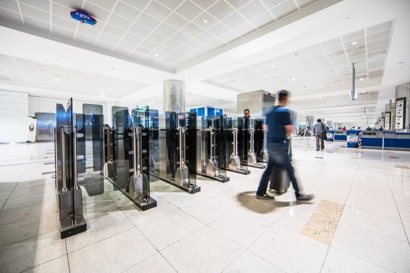 Emirates has begun work on biometric scanners at DXB Terminal 3