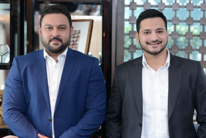 A2Z Arabia co-founders Syed Sarfraz and Parvez Ahmed