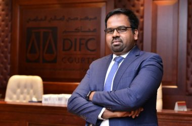 DIFC Courts senior IT manager Arul Jose Vigin