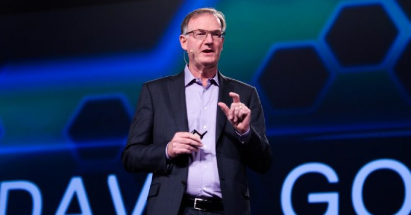 Dell EMC president David Goulden
