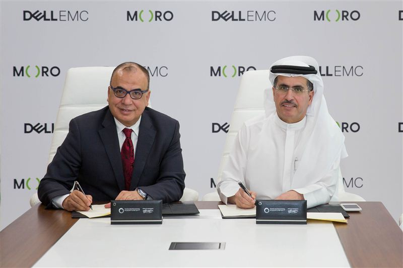 The MoU was signed by HE Saeed Mohammed Al Tayer,MD & CEO of Dubai Electricity and Water Authority and Mohammed Amin, Senior Vice President at Dell EMC, Middle East, Turkey and Africa.