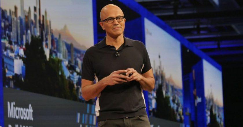 Microsoft CEO Satya Nadella at Build 2017