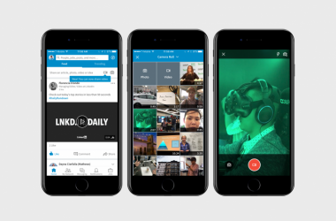 LinkedIn has introduced a new native video feature to its mobile app