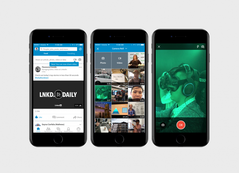 LinkedIn Introduces Native Video Feature to Simulate User Engagement on Its Platform