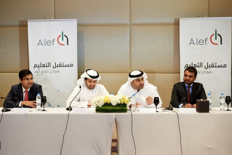 Alef representatives announce the launch