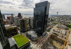 Amazon's headquarters in Seattle