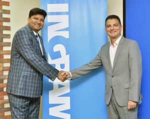 Shahnawaz Sheikh SonicWALL Sales Channel Director META Eastern Europe and Marc Kassis Cyber Security Director Ingram Micro META