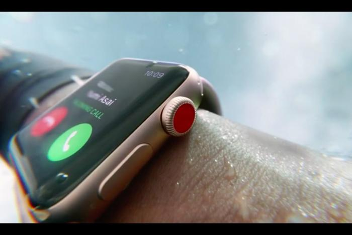 Apple launches Apple Watch Series 3