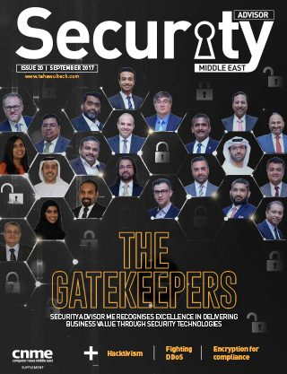 Security Advisor Middle East | Issue 20 | September 2017