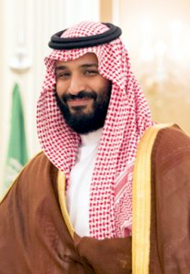 HRH Mohammed bin Salman, Crown Prince, Saudi Arabia